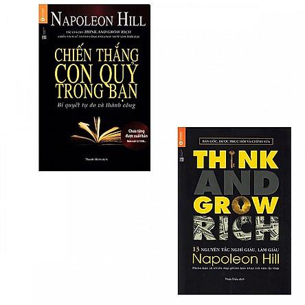 Combo Sách Kỹ Năng, Tuyệt Chiêu Làm Giàu: Chiến Thắng Con Quỷ Trong Bạn + Think And Grow Rich - 13 Nguyên Tắc Nghĩ Giàu Làm Giàu (Tái Bản)