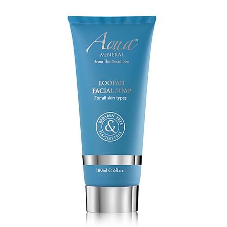Xà Phòng Rửa Mặt - Loofah Facial Soap (Aqua Mineral)