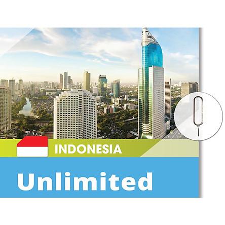 SIM DATA INDONESIA – 4G KHÔNG GIỚI HẠN - TÙY CHỌN NGÀY DÙNG