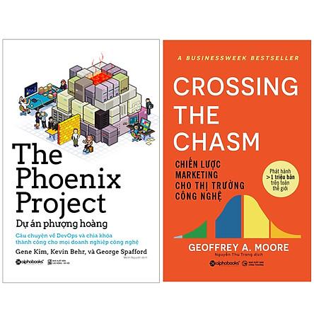 Combo Sách : The Phoenix Project - Dự Án Phượng Hoàng + Chiến Lược Marketing Cho Thị Trường Công Nghệ