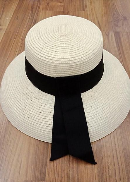 Nón cói, Mũ cói đi biển, Mũ cói dáng chụp đèn (be)