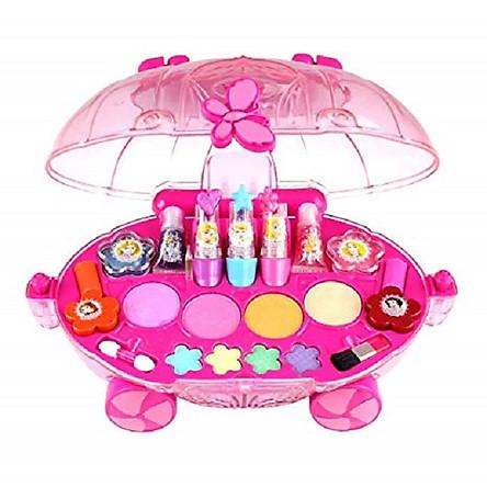 Bộ Trang Điểm Đồ Chơi Búp Bê Barbie