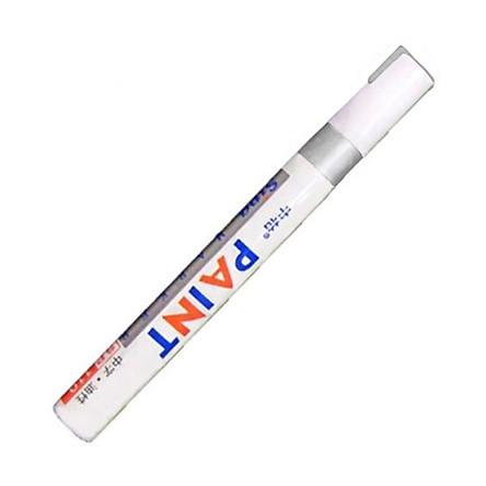 Bút lông đánh dấu vĩnh viễn 12 màu dùng vẽ trên cao su, kim loại, lốp xe