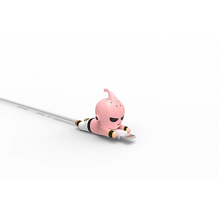 Mô hình cắn cáp bảo vệ cáp sạc điện thoại - Majin Buu