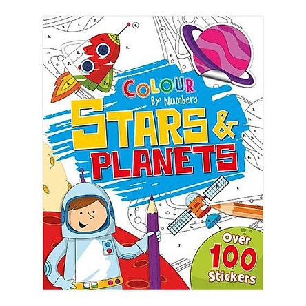 Colour By Numbers : Stars and Planets