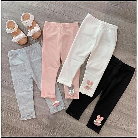 Combo 3 quần legging bé gái (giao màu ngẫu nhiên)