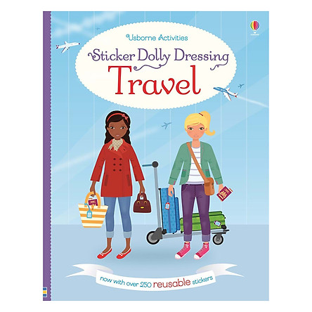 Usborne Sticker Dolly Dressing: Travel