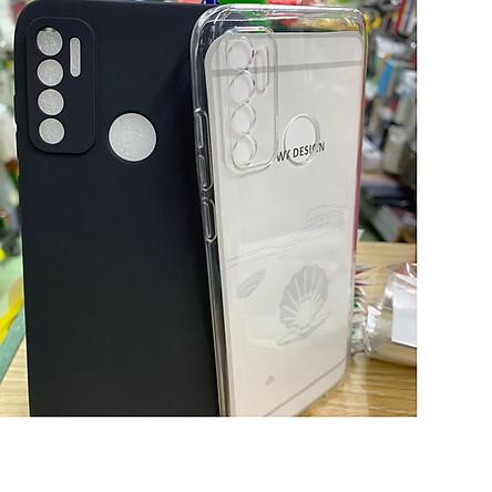 Ốp lưng dẻo trong suốt 0.6mm bảo vệ camera cho điện thoại Vsmart Live 4