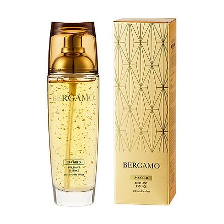 Tinh Chất Chống Lão Hóa Bergamo 24K Gold Brillant Essence 110ml