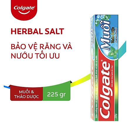 Kem đánh răng Colgate muối thảo dược 225g/tuýp