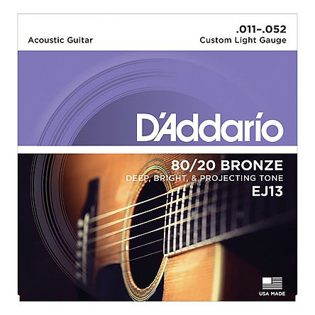 Dây Đàn Guitar Acoustic D'Addario EJ13