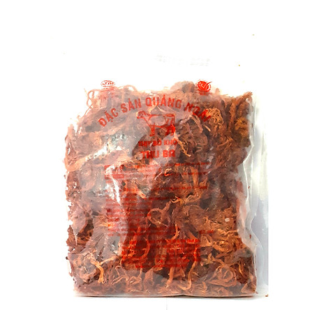 Bò Khô Thu Ba 1000 gr dạng sợi, ăn vặt