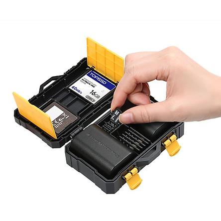 Hộp đựng thẻ nhớ, pin máy ảnh chống va đập chống nước