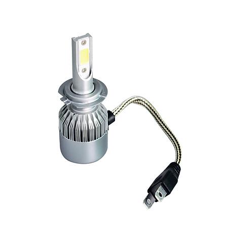 1Pcs Car LED Headlight LED Driving Light Headlamp Bulb All-in-one Conversion Kit H7 18W 6000K 3000LM
