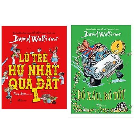 Combo sách thiếu nhi hài hước bán chạy: Lũ Trẻ Hư Nhất Quả Đất + Bố Xấu, Bố Tốt