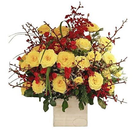 Hộp hoa tươi - Giấc Mơ Êm Đềm 3356