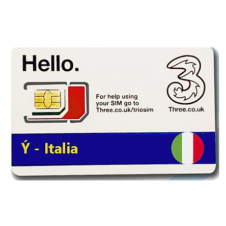 Sim Du lịch Ý - Italia 4G tốc độ cao