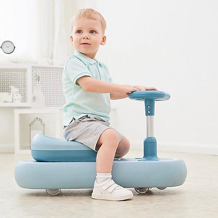 Xe lắc chống lật cho bé, xe lắc an toàn PR002