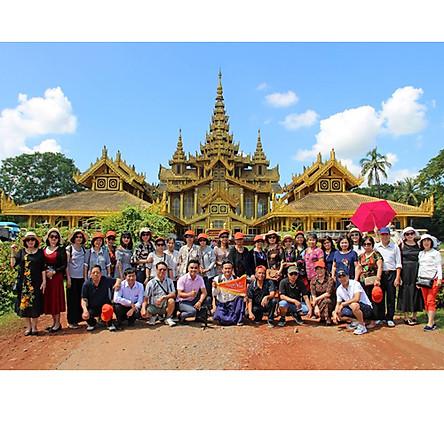 Tour du lịch Hà Nội - Myanmar - Hà Nội 4 ngày 3 đêm Bay Vietjet air.