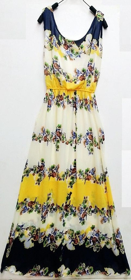 Thướt tha, nữ tính với váy - đầm dài đi biển NH26