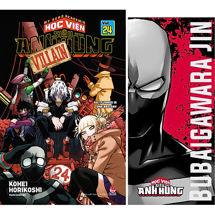 My Hero Academia - Học Viện Siêu Anh Hùng - Tập 24: All It Takes Is One Bad Day (Kèm Bookmark)