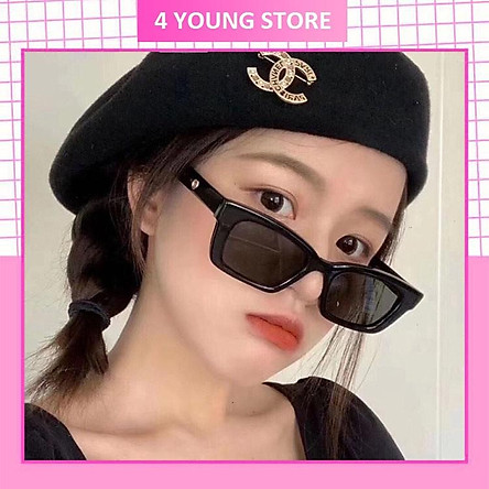 Kính mát nữ thời trang mắt vuông phong cách Hàn Quốc Hot trend, kính râm chống tia UV 203