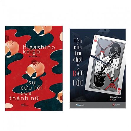 Siêu phẩm trinh thám: Sự Cứu Rỗi Của Thánh Nữ + Tên của trò chơi là BẮT CÓC (Bộ 2 cuốn mới nhất của Higashino Keigo - Tặng kèm bookmark PĐ)