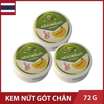 Bộ 3 Hộp Kem Ngừa Nứt Gót Chân Banana - Hộp 24g