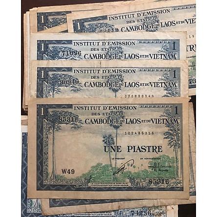 Tiền cổ đông dương, Viện phát hành 1 đồng, 3 nước Việt Nam, Lào và Campuchia