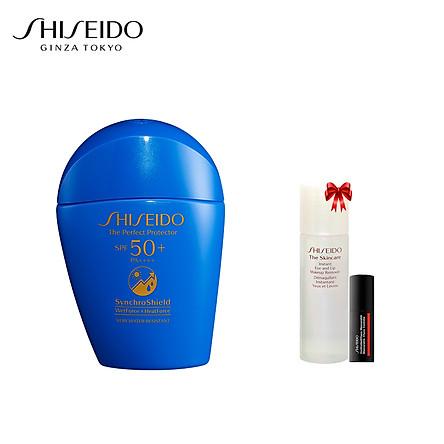 Bộ sản phẩm Sữa chống nắng Shiseido GSC Perfect Protector 50ml