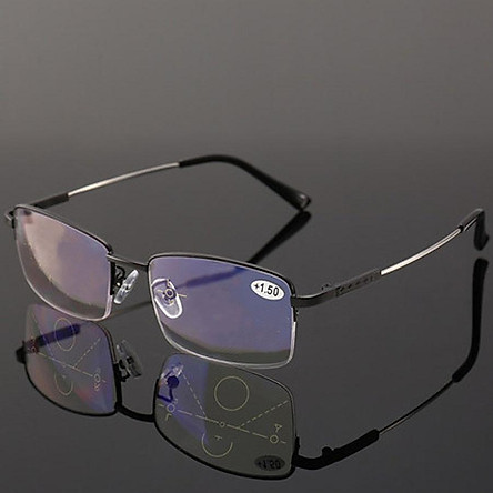 Kính viễn thị lão thị titanium cao cấp siêu dẻo chống va đập cao cấp kv367
