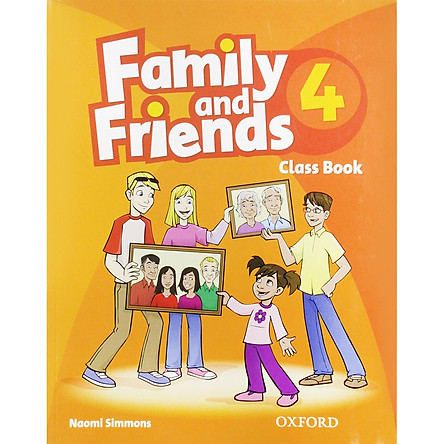 Family and Friends 4 Classbook (without MultiROM) (British English Edition)