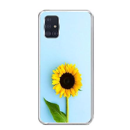 Ốp lưng dẻo cho điện thoại Samsung Galaxy A51 - 0325 SUNFLOWER05 - Hàng Chính Hãng