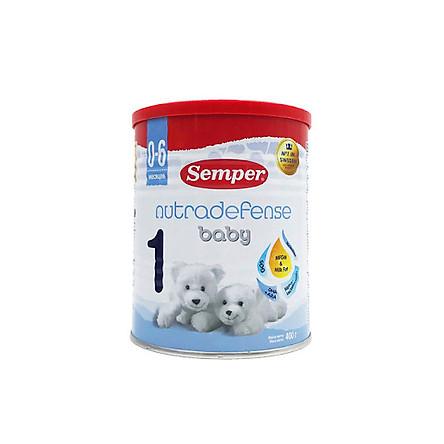 Sữa Semper Nutradefense Baby Số 1 400g (0-6 tháng)