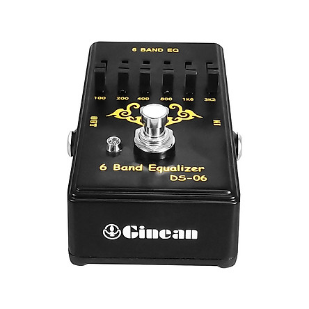 Electric Guitar Effect Pedal 6 Band Equalizer