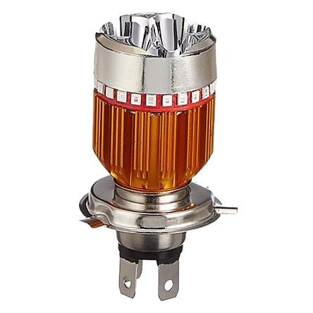 Đèn Pha LED Xe Máy 7 Màu Chân H4