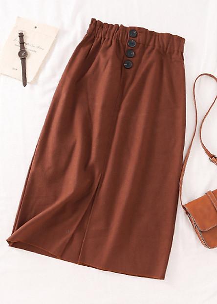 Chân Váy Bút Chì Hàn Quốc Chất Liệu Vải Bông Mềm Cao Cấp
