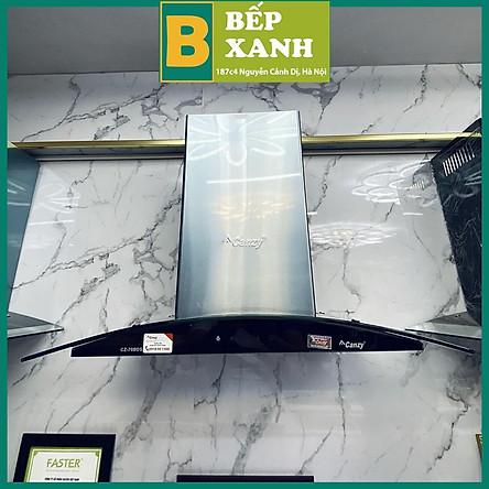 Máy Hút Mùi Cảm Ứng Kính Cong Canzy 70 BDS hàng chính hãng