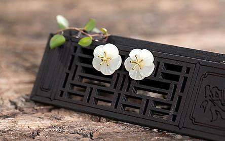 Bông tai Hoa mai ngũ phúc (BT143)
