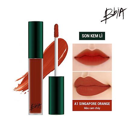 Son kem lì Bbia Last Velvet Lip Tint Asia Edition 5g (5 Màu)