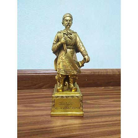 Tượng quốc công tiết chế Hưng Đạo Đại Vương Trần Quốc Tuấn bằng đồng thau phong thủy Hồng Thắng