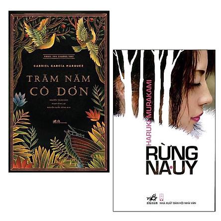Combo Sách Văn Học: Rừng Na Uy (Tái Bản Lần 4) + Trăm Năm Cô Đơn - (Những Cuốn sách Được Ưa Chuộng Nhất)