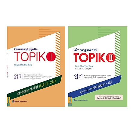 Combo 2 Cuốn: Cẩm Nang Luyện Thi Topik 1 Và Cẩm Nang Luyện Thi Topik 2 (Tặng 50 Đề Thi Topik Và Giáo Trình Luyện Viết Topik)