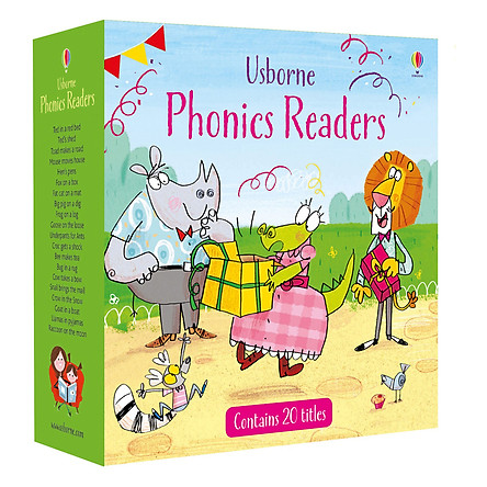 Usborne Phonics Readers Boxed Set - x20 Phonics Readers