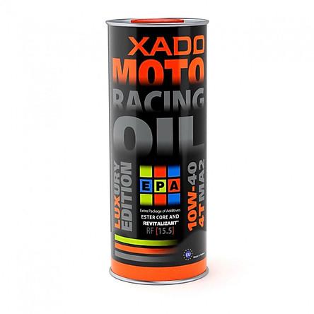 Dầu nhớt Xado Moto Luxury Racing 10w40 1L