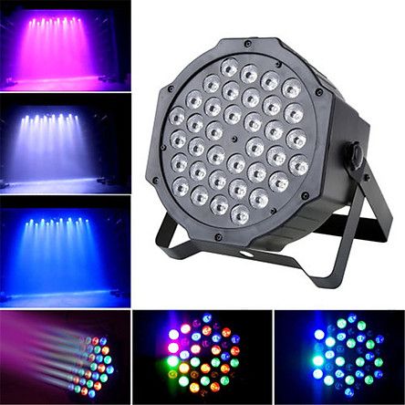 36W 36L-EDs Projector Stage Light Sound Activated RGB Disco DJ Bar Dye Beam Lamp