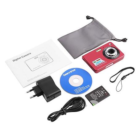 Red Hd Digital Camera K09 European Standard