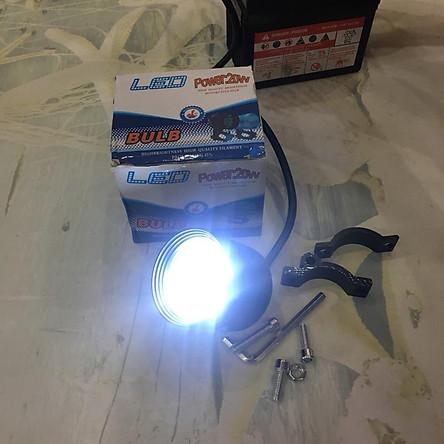 Bộ đèn LED 4 bóng T1 độ ô tô, xe máy siêu sáng A204