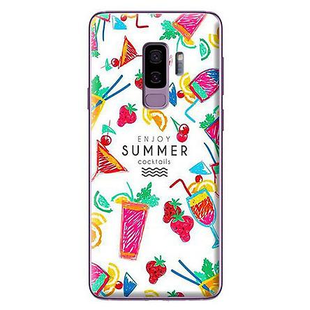 Ốp Lưng Dành Cho Samsung Galaxy S9 Plus - Mẫu Họa Tiết Summer Cocktails