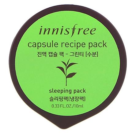 Innisfree Capsule Recipe Pack_Green Tea 10ml